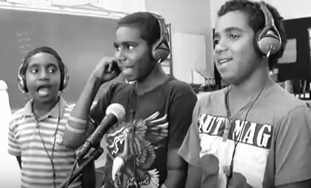 storm boy productions filming during workshops in Cape York